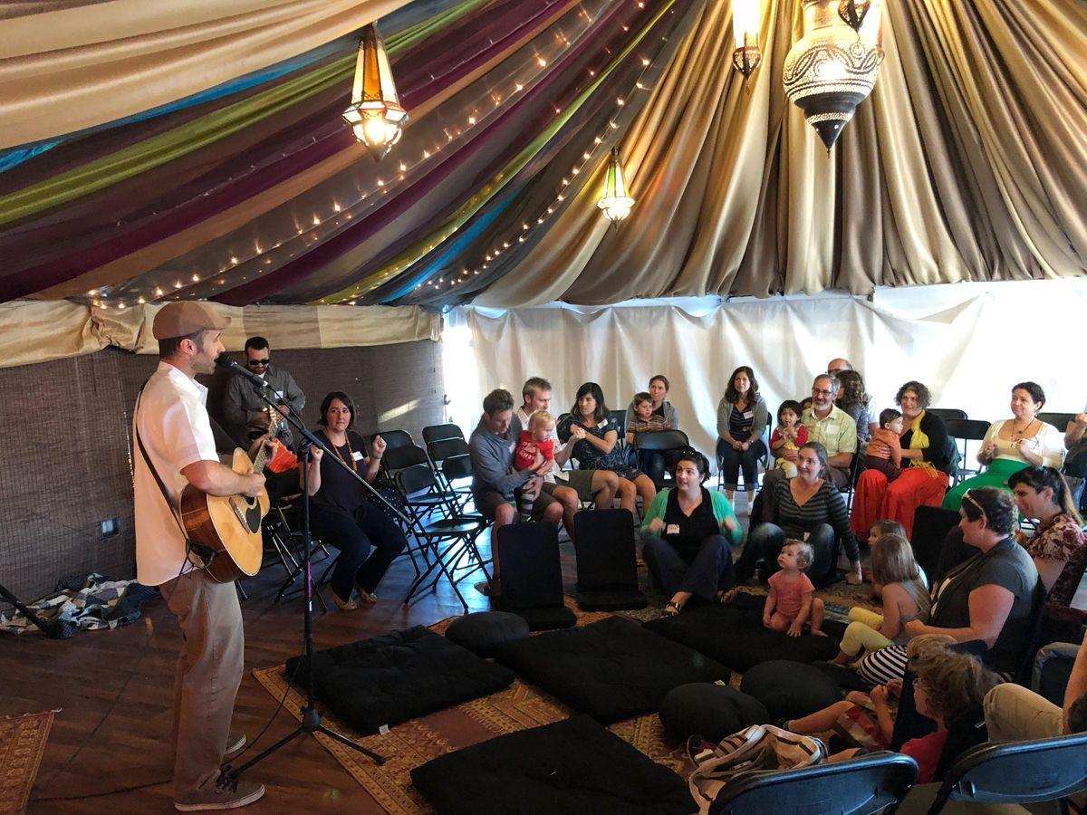 Saturday Morning Tot Shabbat With Camp Tawonga and Urban Adamah