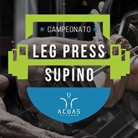 Campeonato de Leg Press e Supino Acuas Fitness
