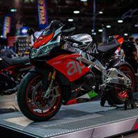 Aprilia at Vancouver Motorcycle Show