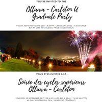 Graduate Party  Soire des Gradus
