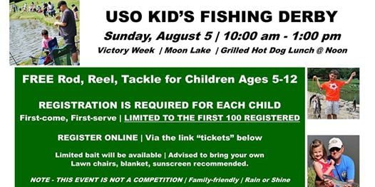 Fishing tackle giveaway