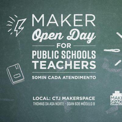 Open Day For Public School Teachers - Junho 2019