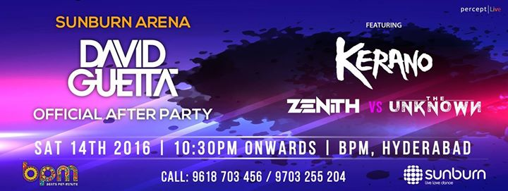 Sunburn Arena AfterParty with Kerano & Zenith vs The Unknown