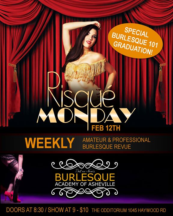 Risqu Monday Burlesque Graduation 212