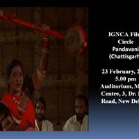 IGNCA Film Circle - Pandavani (Chattisgarh)