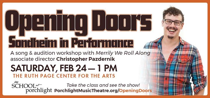 Opening Doors Sondheim in Performance at Ruth Page Center for the Arts Chicago  sc 1 st  All Events in City & Opening Doors: Sondheim in Performance at Ruth Page Center for the ...