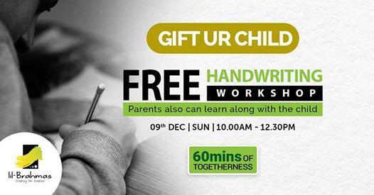 Free Hand Writing Workshop - Transform in 60 Min