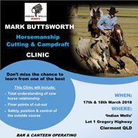 Mark Buttsworth Horsemanship Clinic Clermont QLD 17-183