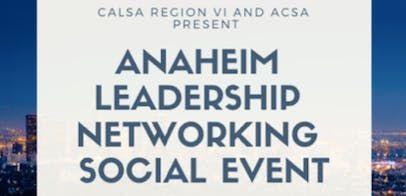 Anaheim Leadership Networking Social Event