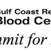 Blood Drive w the Gulf Coast Regional Blood Center