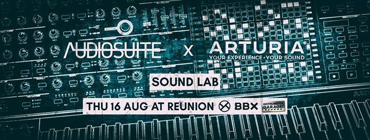 Audiosuite x Arturia Sound Lab