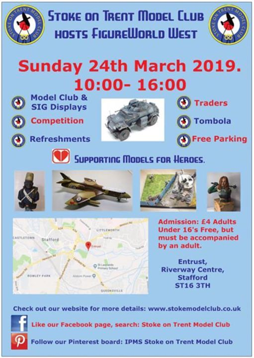 Stoke on Trent Model Show and Figureworld West 2019