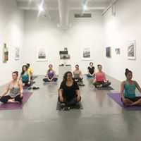 Yoga in the Gallery at Blue Star Contemporary