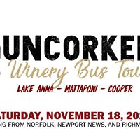 Uncorked Winery Bus Tour (Hampton Roads Departure)