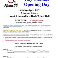 Moila Country Club Opening Day