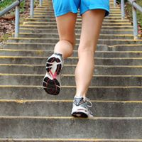 Stair Climb Training for Moms