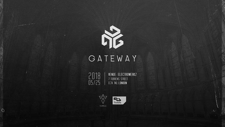 Gateway x Temple. Invites Odd Hills SNCTR. Special Guests