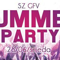 Summer Party  SZ GFV  Barfly Varadin