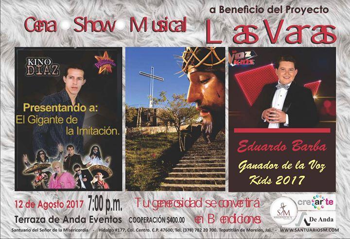 Cena Show A Beneficio Del Proyecto Las Varas At Terraza De