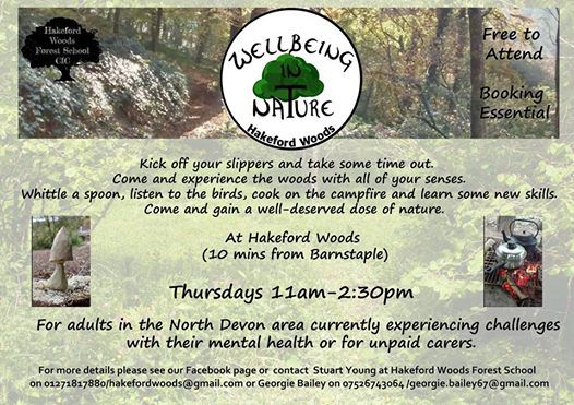 Wellbeing in Nature at Hakeford Woods