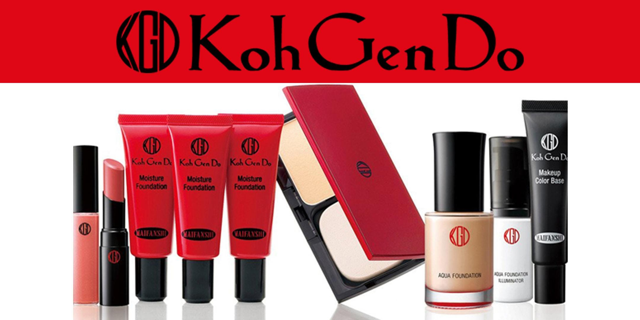 FREE Makeup seminar with Koh Gen Do brand experts Diane Nakauchi and Henry Puebla