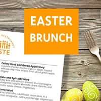 Easter Brunch at Taste