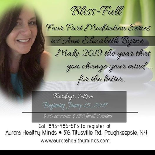 Get Blissed wMeditation Series January 15th 7pm