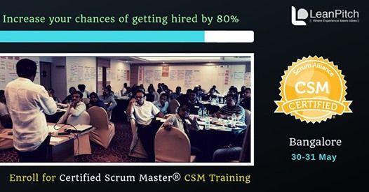 Certified Scrum Master (CSM) Training - Bangalore