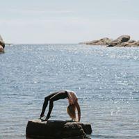 Yoga i vinter med Cecilie