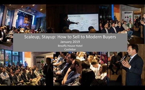 Scaleup Stayup How to Sell to Modern Buyers
