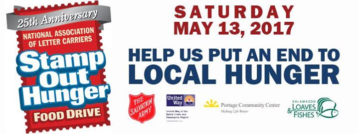 national letter carriers stamp out hunger food drive