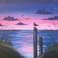 Mums and Bubs Ocean Sunset