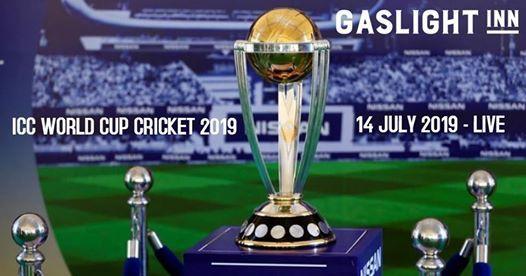 ICC World Cricket Final - **Extended Trading** at Gaslight Inn