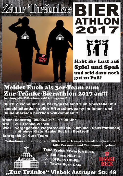 Zur Tränke - Bierathlon 2017 + Aftershowparty at Zur Tränke Visbek ...