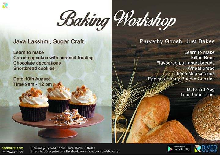 Baking classes at RBC with Just bakes Kochi