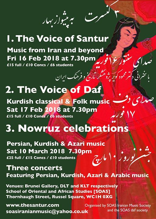 The Voice of Santur Music from Iran and Beyond