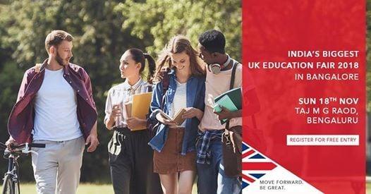 SI-UK University Fair Bangalore 2018