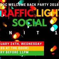 Traffic Light Social - Welcome Back Party 2018
