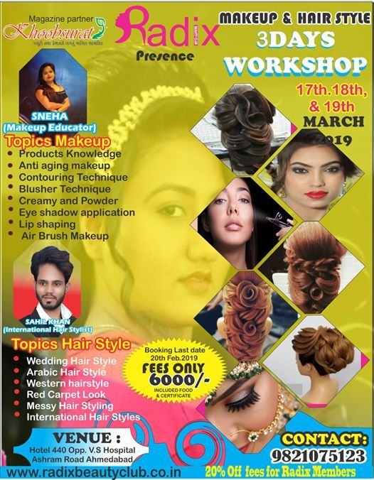 International Hair Style and Makeup Workshop