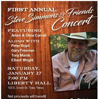 First Annual Steve Simmons &amp Friends Concert
