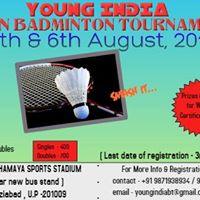 Young India Open Badminton Tournament