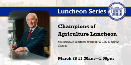 Champions of Agriculture Luncheon w Jan Westcott