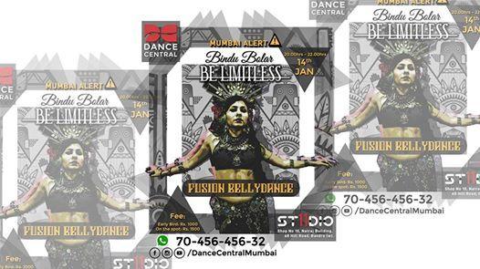 Tribal Fusion BellyDance by Bindu Bolar at Dance Central
