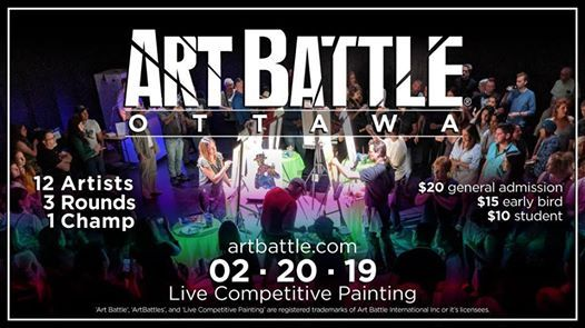 Art Battle Ottawa - February 20 2019