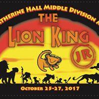 Live Stream Event The Lion King Jr.