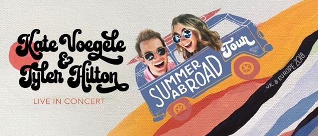 Kate Voegele Tyler Hilton Live In Concert Summer Abroad Tour At