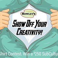 Howleys T-Shirt Contest