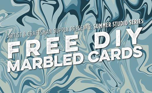 Summer Studio Series Paper Marbling At Artist Craftsman Supply