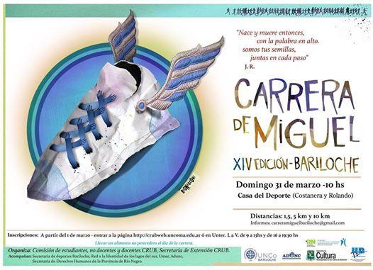 Carrera de Miguel Bariloche