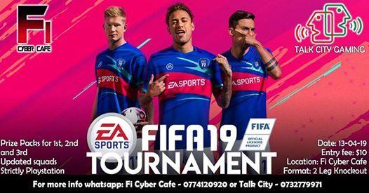 Fifa 19 Tournament Fi Cybercafe and Talk City
